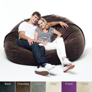 Velvet Couple 5 foot Bean Sack