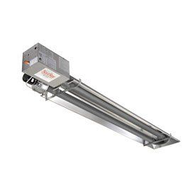 Natural Gas Heater Infrared Vacuum Compact U Tube 25000
