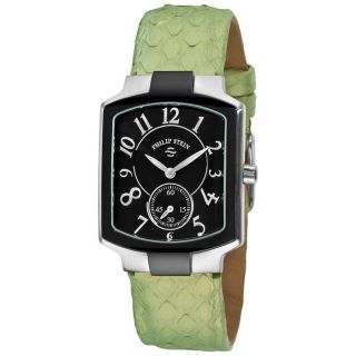 Philip Stein Womens Classic Green Strap Watch MSRP $585.00 Today $