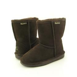 Bearpaw Emma Girls Brown Chocolate Winter Boots