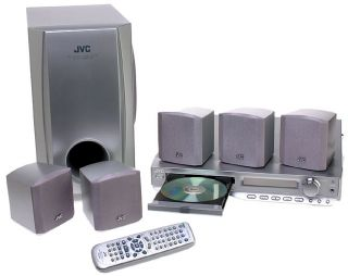JVC TH A35 325 watt DVD Home Theater in a Box (Refurbished