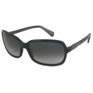Diane Von Furstenberg Womens DVF550 Amanda Rectangular Sunglasses