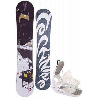Technine True Love Womens 151 cm Snowboard with Flow Bindings
