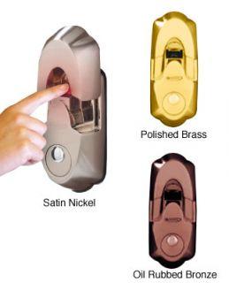Fingerprint Activated Deadbolt Lock