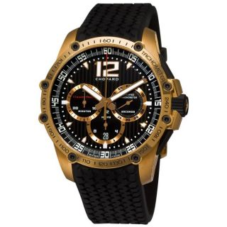 Chopard Mens Classic Racing Superfast Rose Gold Chronograph Watch