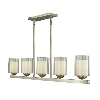 Woodbridge Lighting Cosmo 5 light Satin Nickel Pendant