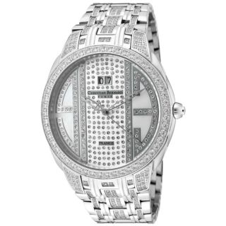 Christian Bernard Mens City Light Stainless Steel Watch