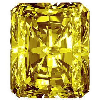 Star Legacys Diamond Pet Collection Radiant Cut 0.5 CT Fancy Yellow