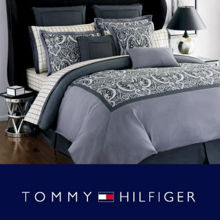 Tommy Hilfiger Hudson Valley Queen size Bedding Ensemble with Sheet
