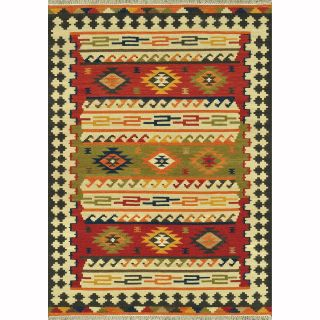 Hand Woven Cordova Multi Wool Rug (36 x 56)