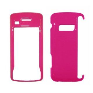 Hot Pink Snap On Cover Hard Case Cell Phone Protector for