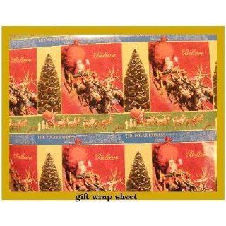Polar Express Collage Gift Wrap ~RARE~: Everything Else