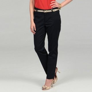 Calvin Klein Womens Belt Loop Pants