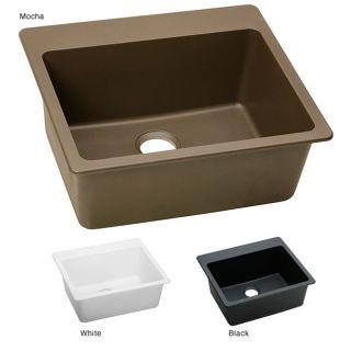 Elkay ELG2522 E granite 25x22 in Single bowl Top Mount Sink