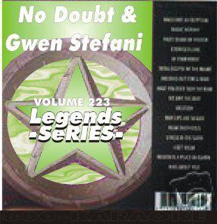 Gwen Stefani Karaoke CD+G Legends #223 16 Song Disc Legends Music