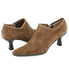 Vaneli Lisabet Dark Taupe Suede Pumps/Heels