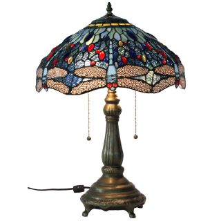 Tiffany Style Dragonfly Table Lamp Today $141.99