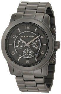 Michael Kors Mens MK8226 Runway Gunmetal Watch Watches