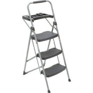 Werner 3 Step Utility Stool with Tray, Model# 223T 6