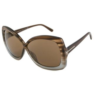 Tom Ford Womens TF0227 Calgary Rectangular Sunglasses Today $146.99