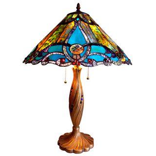 Tiffany style Victorian Design 2 light Table Lamp