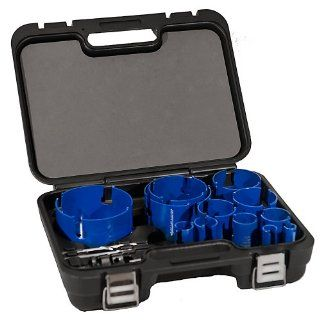 Blue Boar Master Plumber Kit 12 Sizes MEGA Nail Tough Deep Cutting
