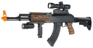 Spring Tactical AK 47 M4 Stock FPS 230 Airsoft Assault