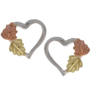 Black Hills Gold and Silver Heart Earrings Today $54.99 4.9 (9