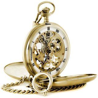 Steinhausen Tasche V Skeleton Pocket Watch