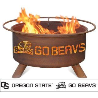 Patina Products F231, 30 Inch Oregon State Fire Pit Patio