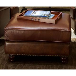 Elements Fine Home Furnishings Mansfield Top Grain Leather Standard