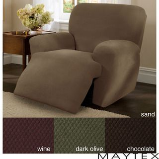 Maytex Stretch Pixel 4 piece Recliner Slipcover