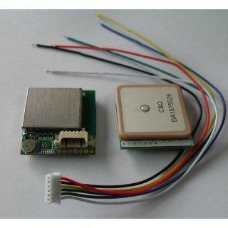 U blox TTL/232 Gps Module Ceramic Antenna Integrated High