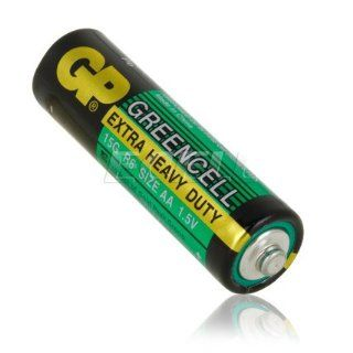 Ecell   4 X GP GREENCELL EXTRA HEAVY DUTY AA 1.5V
