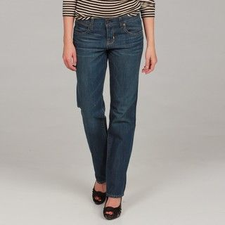 Paper Denim & Cloth Womens Straight Leg Jeans