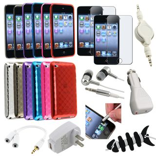 BasAcc Case/ LCD Protector/ Stylus for Apple® iPod Touch Generation 4