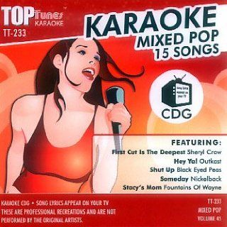 Top Tunes Karaoke CD+G Mixed Pop Vol. 45 TT 233 Karaoke