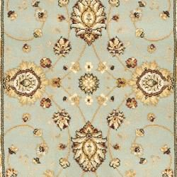 Majesty Extra Fine Light Blue/ Cream Runner (23 x 10)