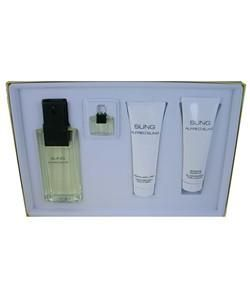 SUNG by Alfred Sung Womens Fragrance 4 piece Gift Set