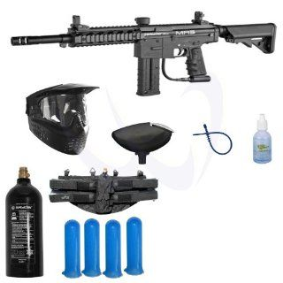 Spyder 2013 MR5 FS Sniper Paintball Marker Gun   Black