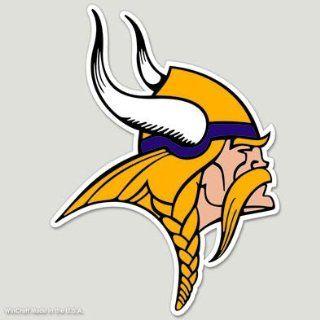 Minnesota Vikings 8x8 COLOR Die Cut Window Decal Sports