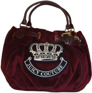 Womens Juicy Couture Purse Handbag Free Style Wine