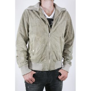 Diesel Mens Leri Suede Leather Jacket