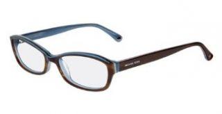 MICHAEL KORS Eyeglasses MK256 235 Brown / Light Blue 50MM Clothing
