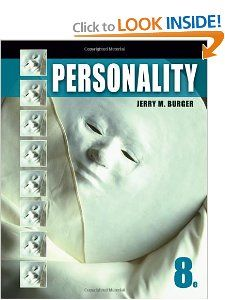 Personality (Psy 235 Theories of Personality): Jerry M. Burger