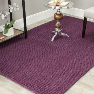 Hand woven Weaves Purple Fine Sisal Rug (3 x 5) Today $54.99 Sale