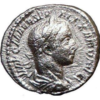 SEVERUS ALEXANDER 222AD Silver Ancient Roman Coin FIDES