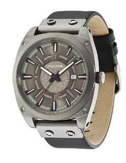 Police Mens PL 12698JSU/61 Enforce x Grey Stainless Steel Leather