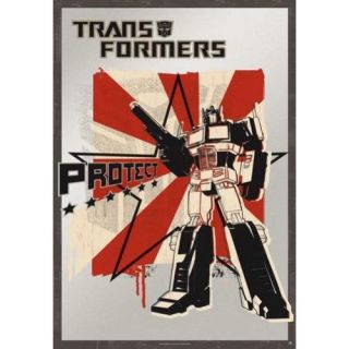 TRANSFORMERS   Poster grand format PROTECT (187)   A loccasion de la