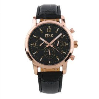 ESS Brand New Mens Luxury Rose Golden Case Automatic Mechanical Watch